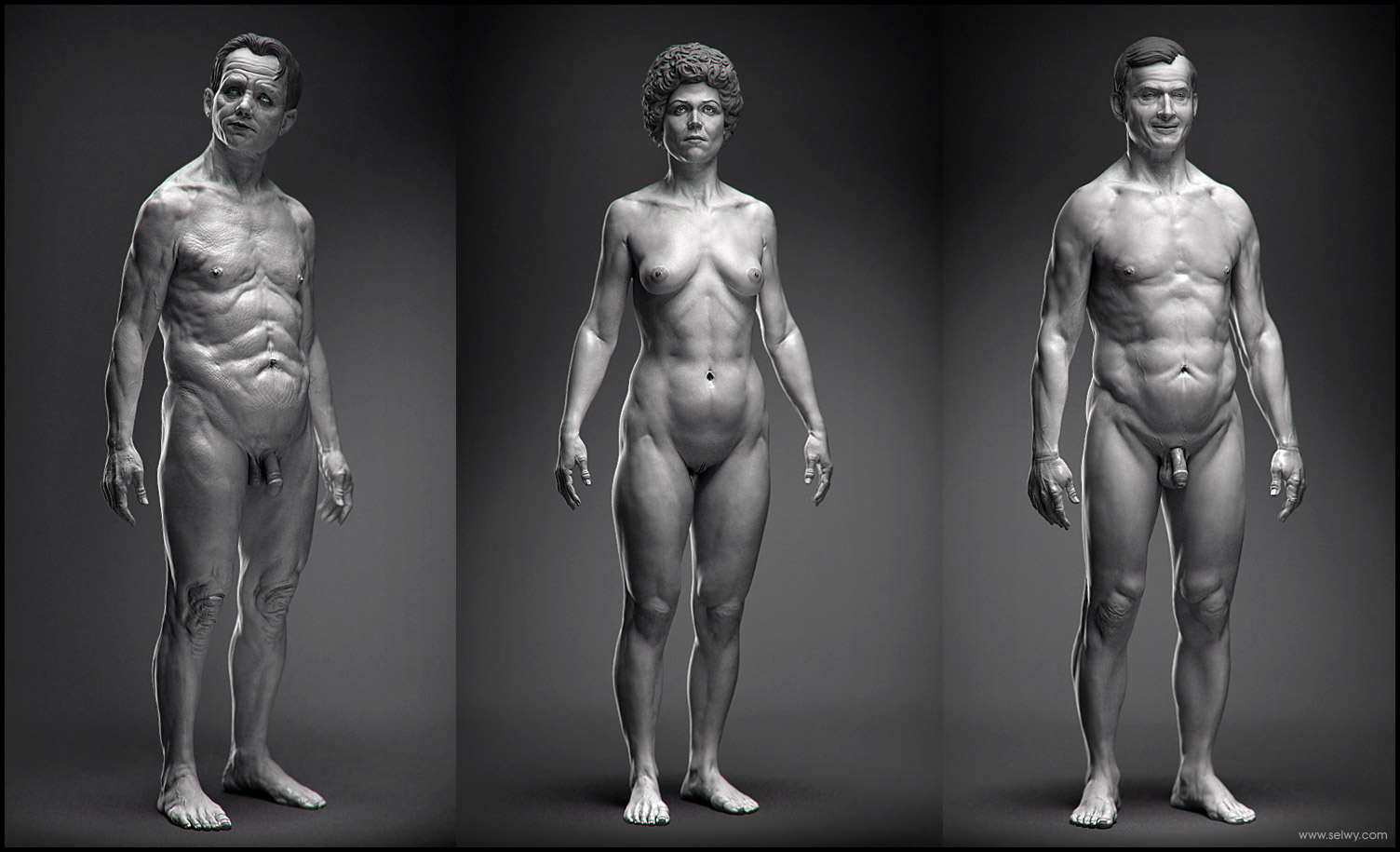 selwy » digital sculpting reel 2008
