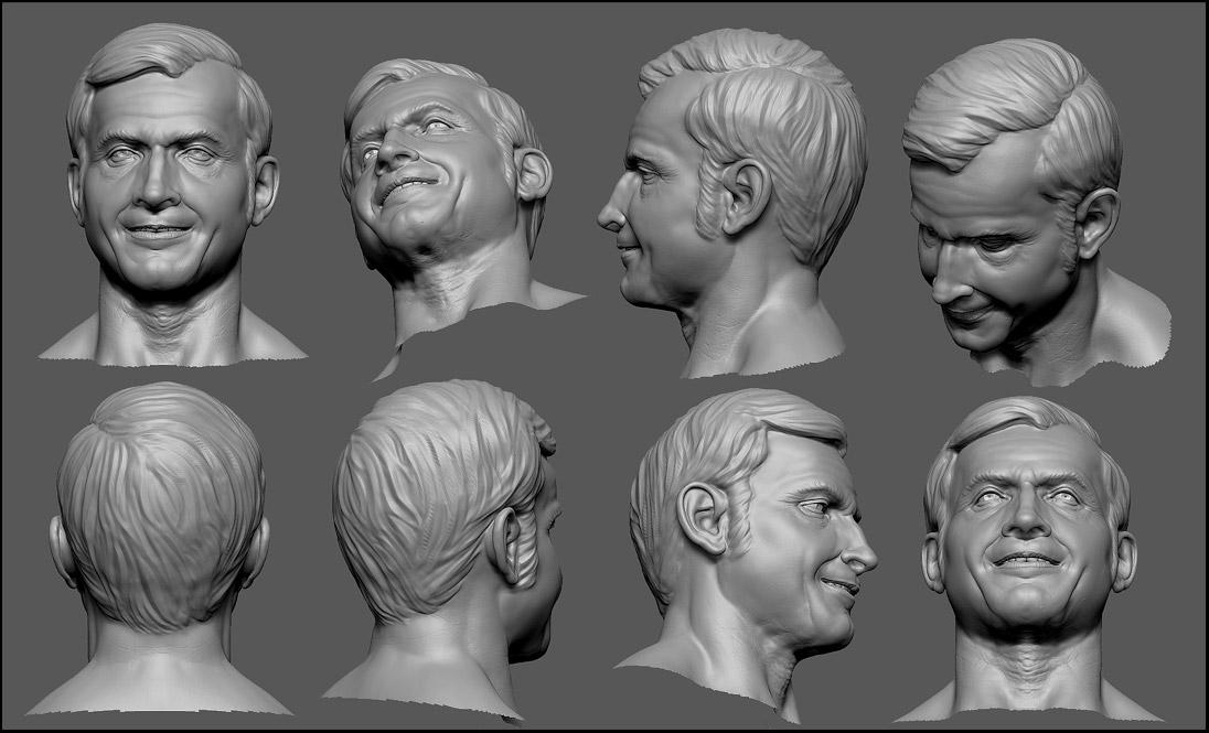 Selwy Digital Sculpting Reel 2008