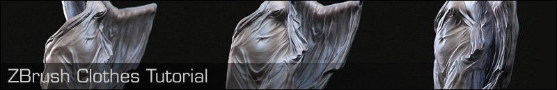 ZBrush Clothes Tutorial