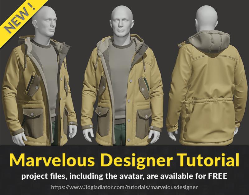 marvelous designer tutorial